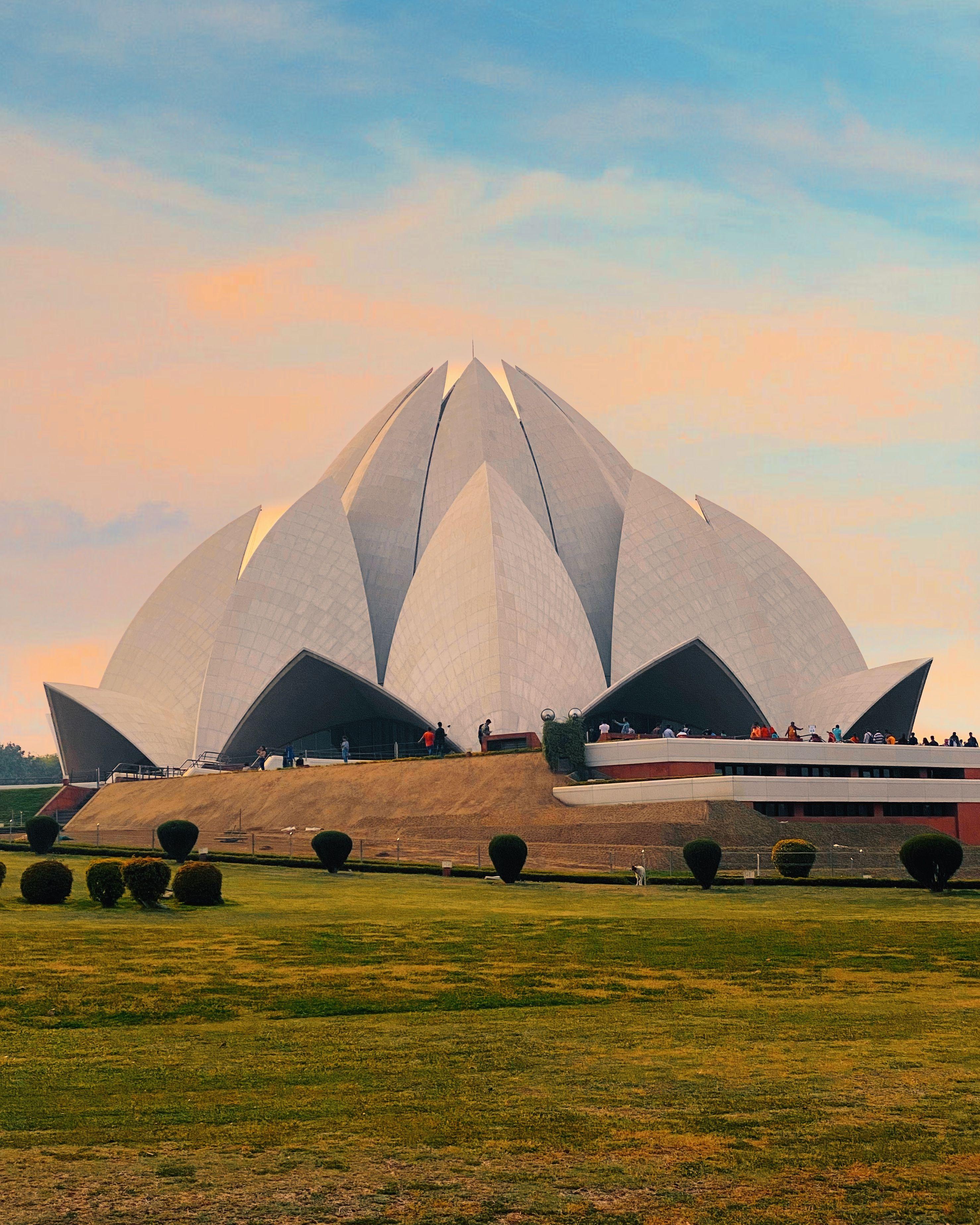 Lotus Temple in 2020   Lotus temple, Tourist office, Travel