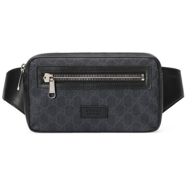 1f4358138f1 Gucci Soft Gg Supreme Belt Bag ( 565) ❤ liked on Polyvore featuring men s  fashion