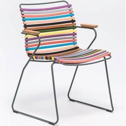 Photo of Houe Click Stuhl mit Armlehne piniengrün Houe