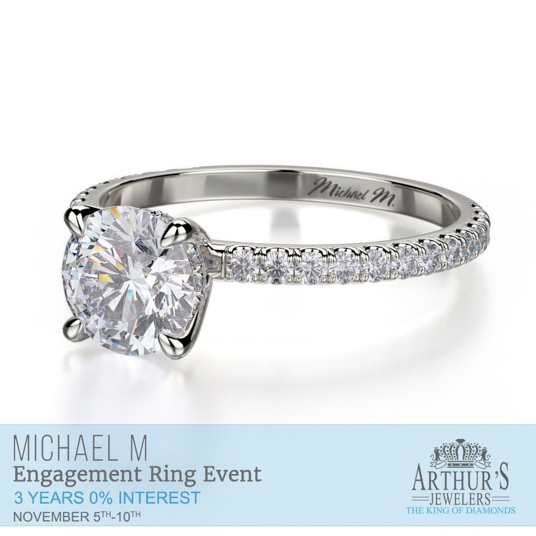 Arthursjewelers Posted To Instagram See The Entire Collection Of Michael M Engagement Rings And Wedding Ri Wedding Ring Stores Engagement Rings Wedding Rings