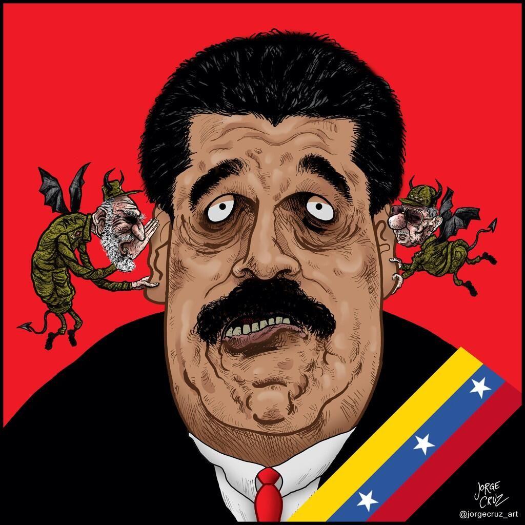 Resultado de imagen para Caricaturas: de Maduro