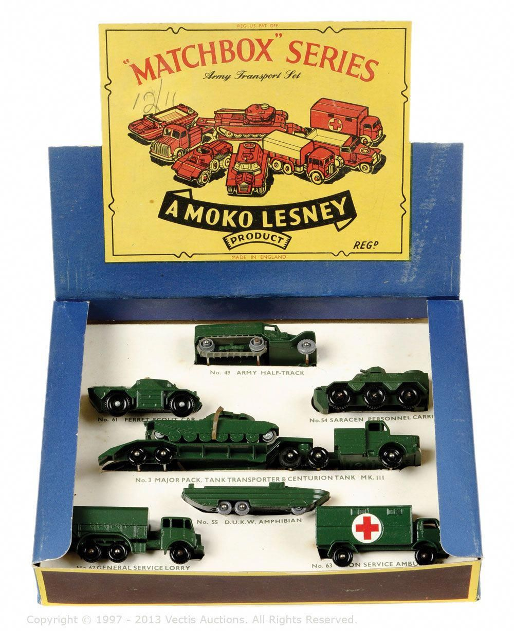 "Matchbox Gift Set No.PS5 ""Army Transport"""