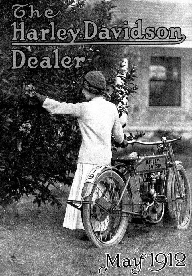 On this day in 1912 The first HarleyDavidson Dealer is