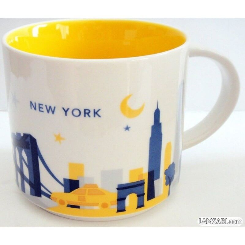 Starbucks New York City Mug You Are Here Collection Tazas Y