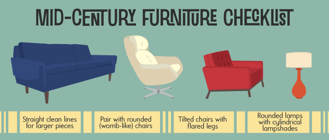Ordinaire Furniture Styles   Mad Men