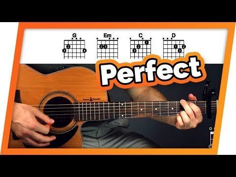 Perfect - Ed Sheeran - Easy Chords Guitar Tutorial (Lesson) For ...