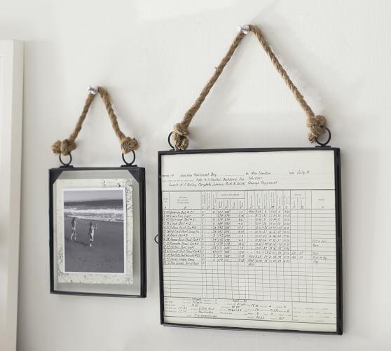 Glass Floating Frames | Pottery Barn | Like, Like, Like | Pinterest ...