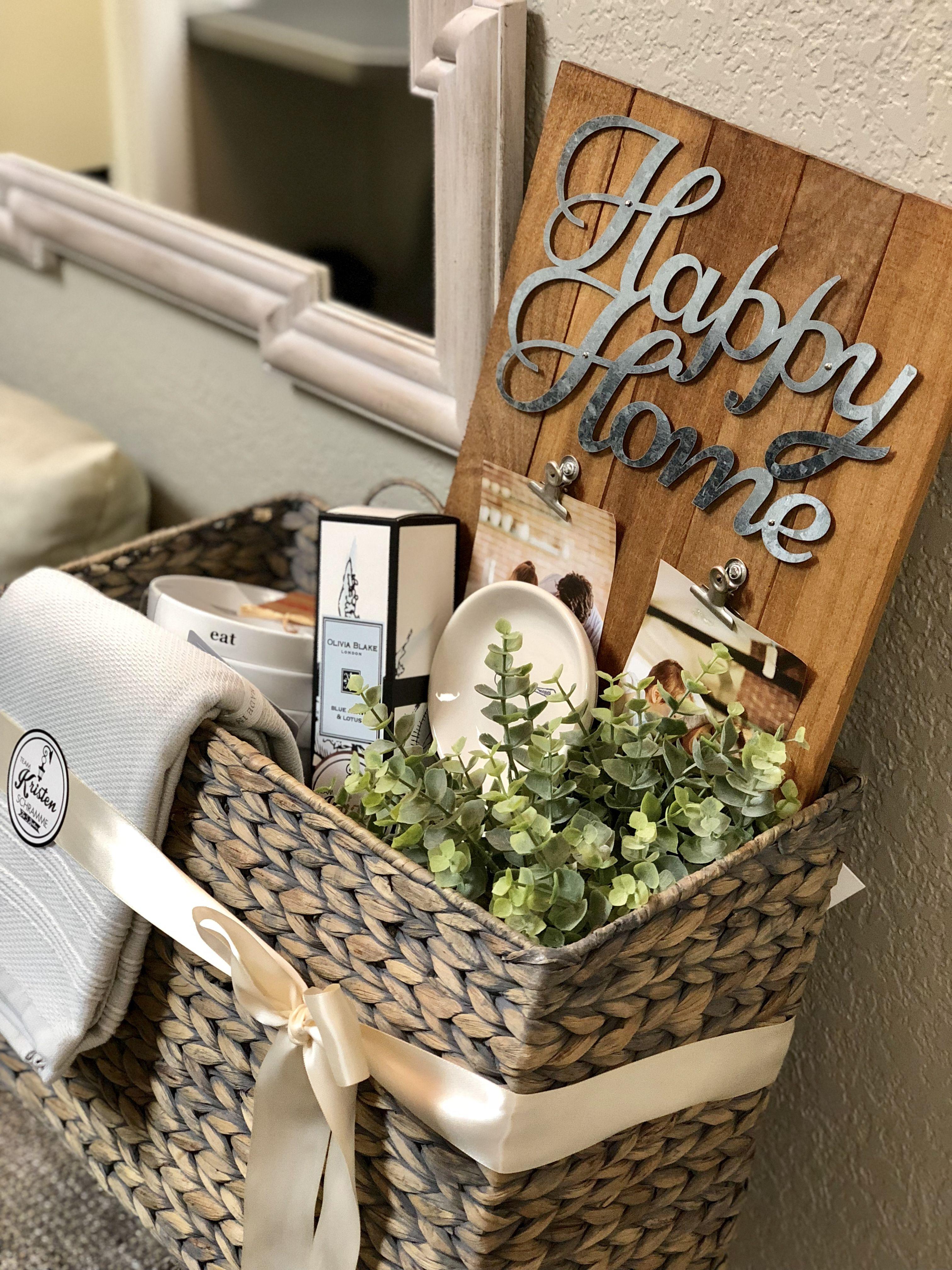 House Warming Basket idea. Joanna Gaines theme. Welcome ...