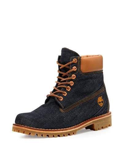 Timberland x Cone Denim Heritage 6 Premium Hiking Boot  6daddeaa98