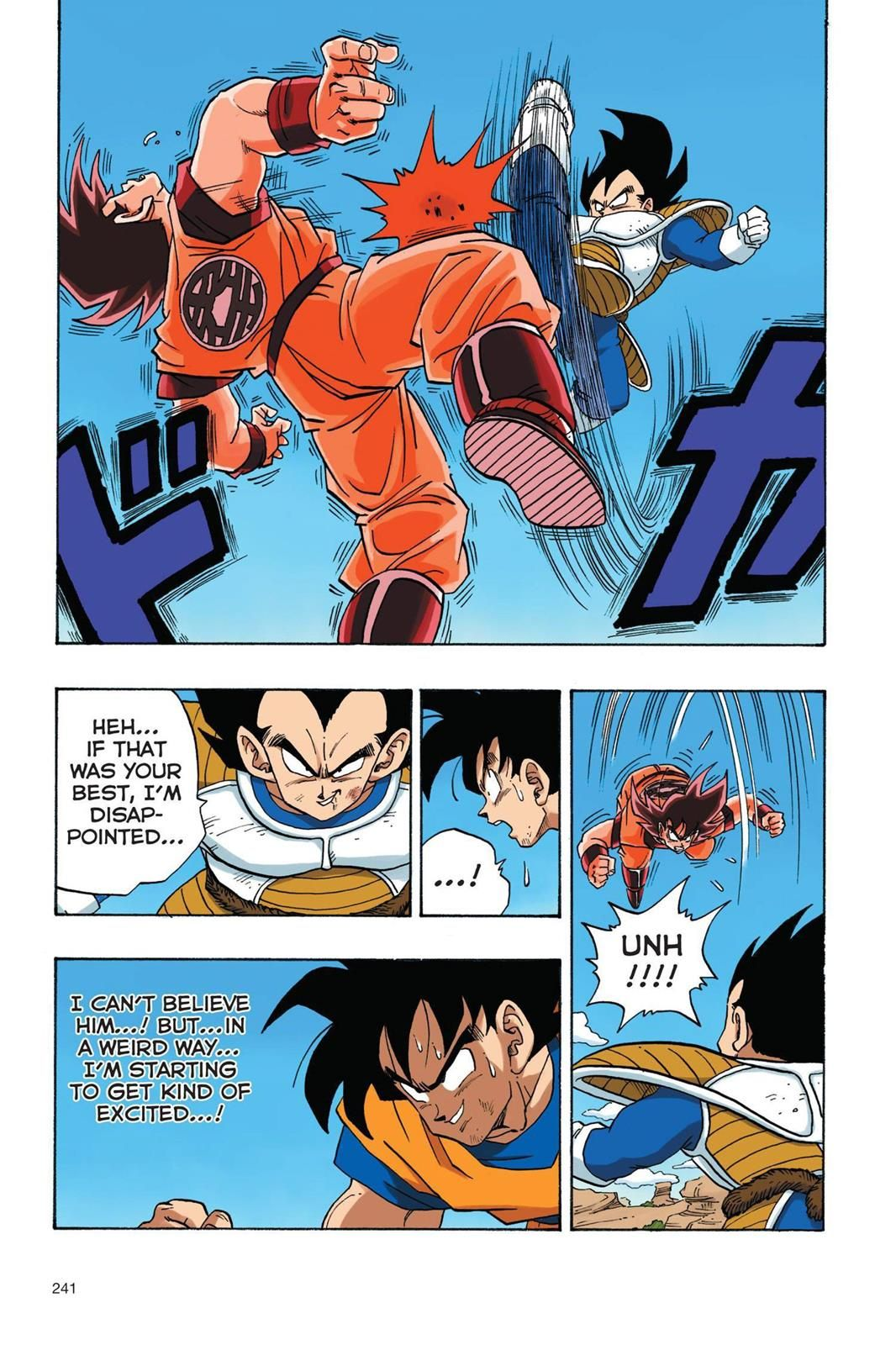 Read Dragon Ball Full Color Saiyan Arc Chapter 34 Page 12 Online Son Goku Is The Greatest Hero On Dragon Ball Super Manga Dragon Ball Super Art Dragon Ball