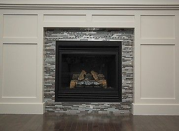 Mosaic Tile Fireplace Design Ideas Pictures Remodel And Decor