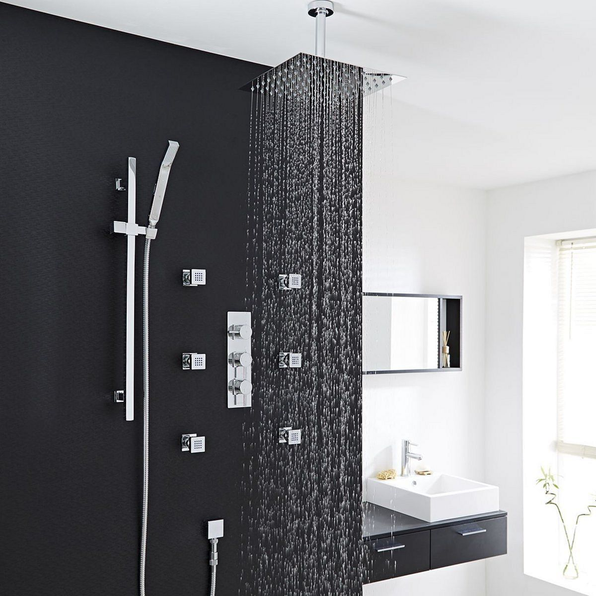 Photo of Best 10+ Cool Black Bathroom Shower Ideas That You Will Like It The idea of ​​â …