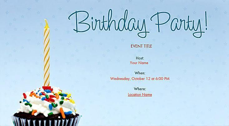 Great looking online birthday invitations you can send for free great looking online birthday invitations you can send for free birthday party by evite bookmarktalkfo Gallery