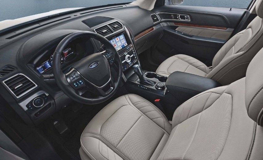2020 Ford Explorer Interior With Images Ford Explorer Interior