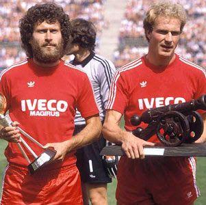Paul Breitner Karl Heinz Rummenigge Good Soccer Players World Football Kids Soccer