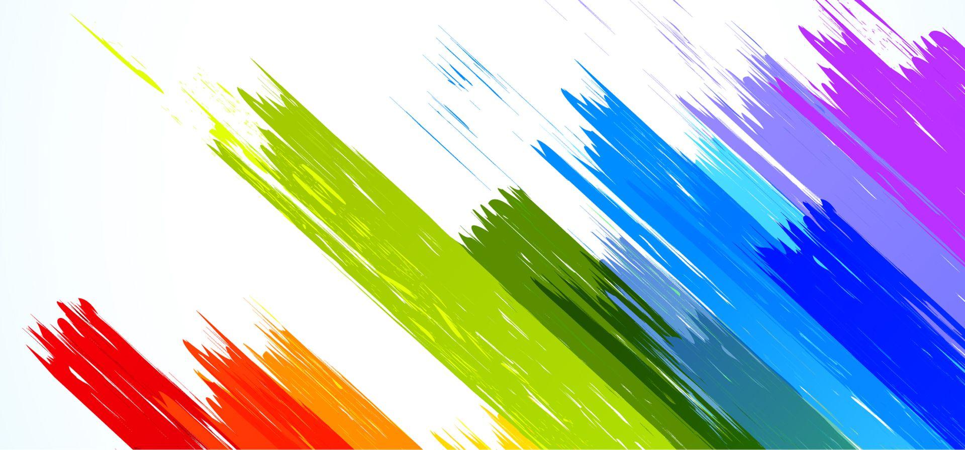 Vector Color Brushes Desain dan Hutan