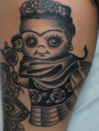 Scott Updike Doll tattoo, Life tattoos, Tattoos