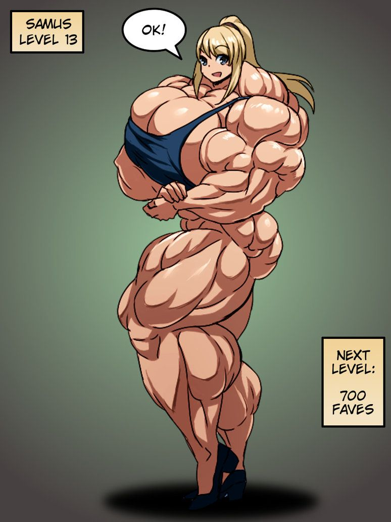 Samus Muscle Growth Part  16 By Elee0228