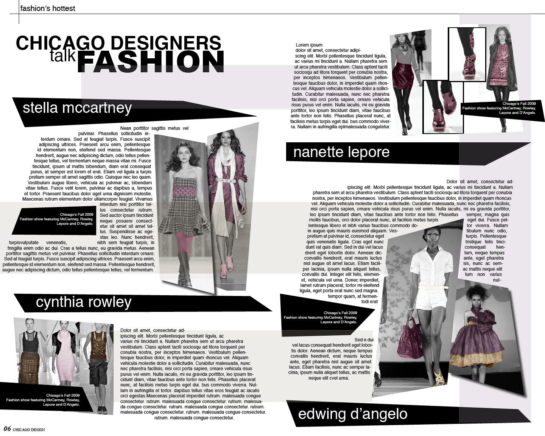 Fashion Magazine Layout Google Search Magazine Layout