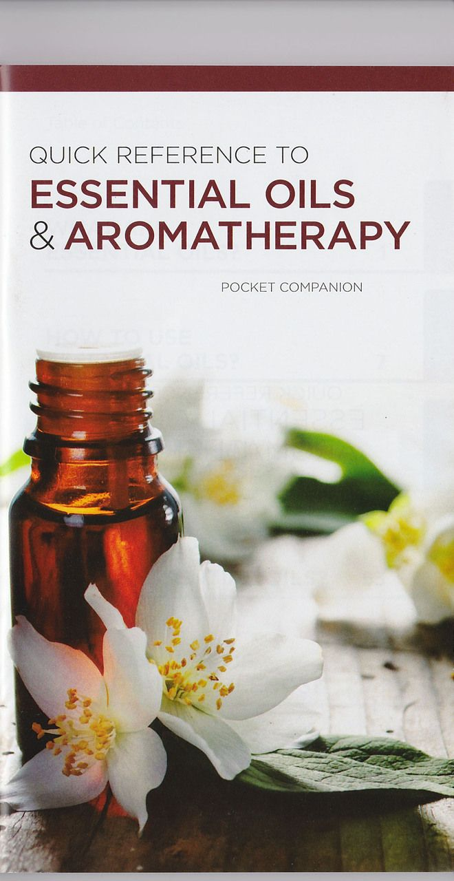 Quick Reference to Essential Oils & Aromatherapy Pocket Companion 5 pack - My Oil Gear