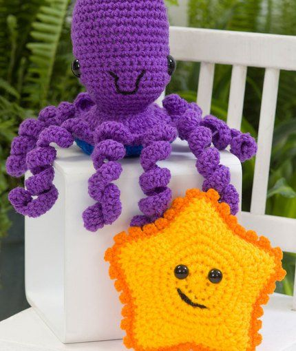 starfish amigurumi and octopus Crochet Pinterest ...