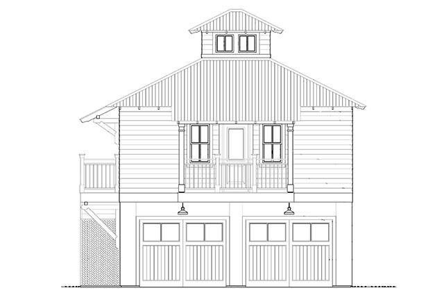 Bayou Bend Carriage House & Garage