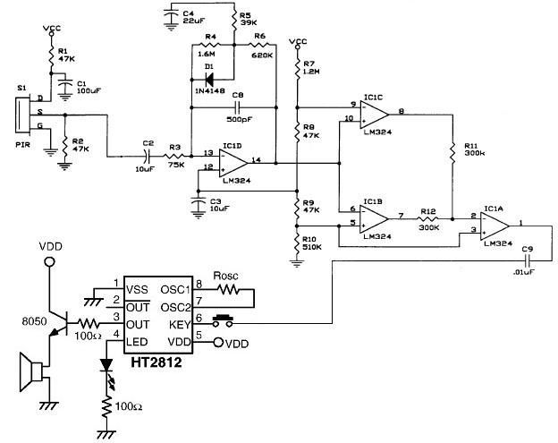 Block Diagram Also Class D Power Lifier Circuit Diagram Also Pir