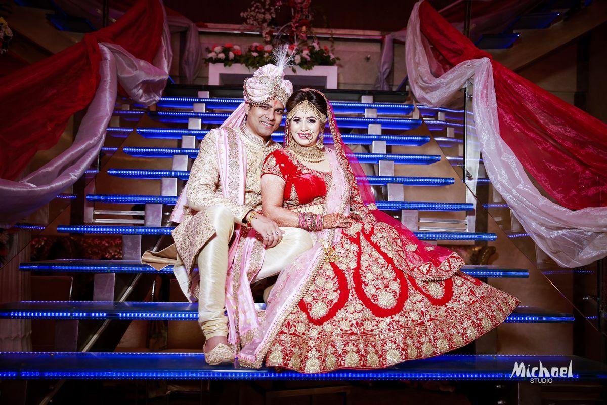 SANSKRITI BANQUET DELHI WEDDING CHANDANI & ABHINAV
