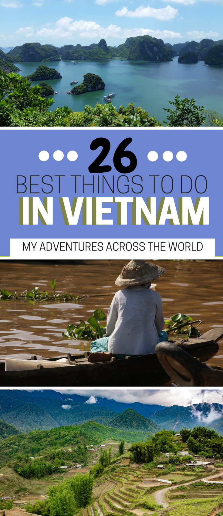 20 Incredibly Fun Things To Do In Vietnam In 20 Days   Asia travel ...