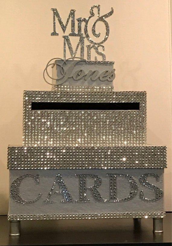 Bling wedding box