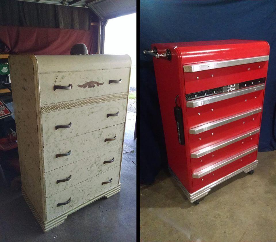 File Cabinet Into Tool Box
