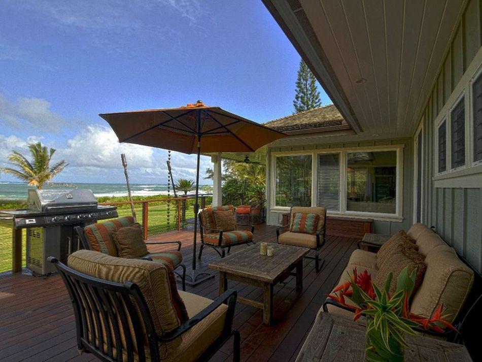 Un salon de jardin sympa pour une ambiance estivale agréable ...