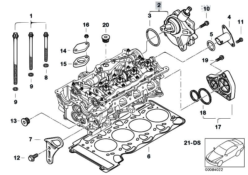 bmw 320i e46 engine diagram