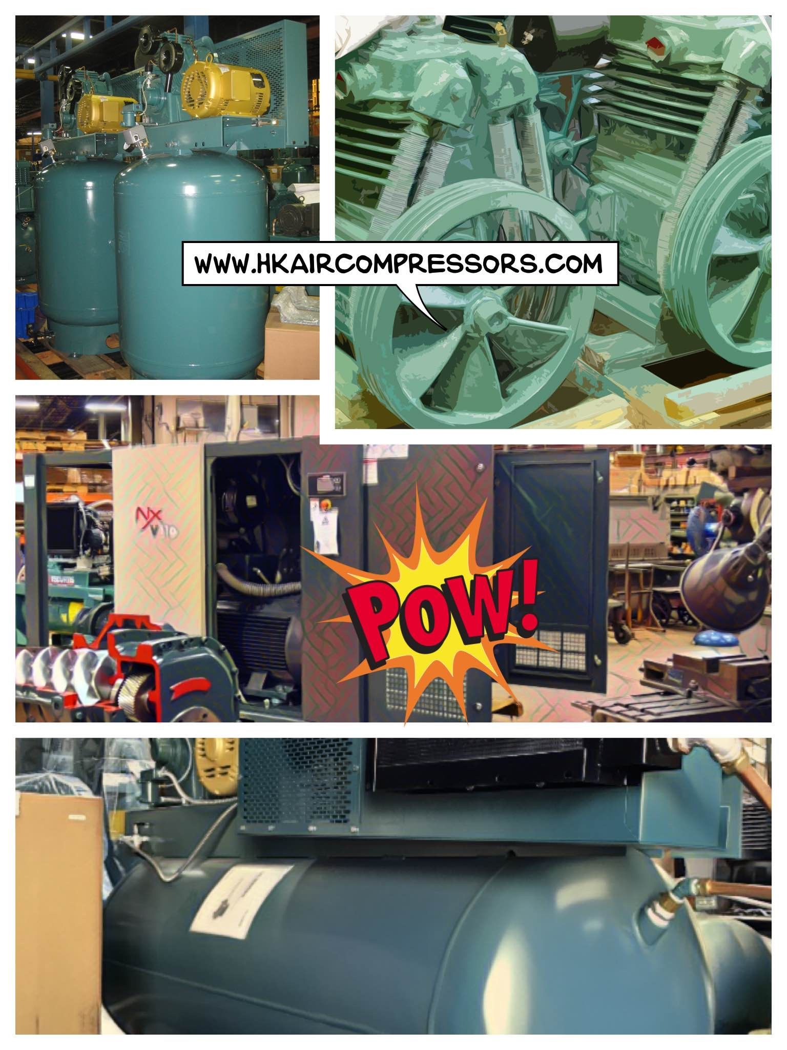 FSCURTIS rotary screw compressor. Future of rotary screws