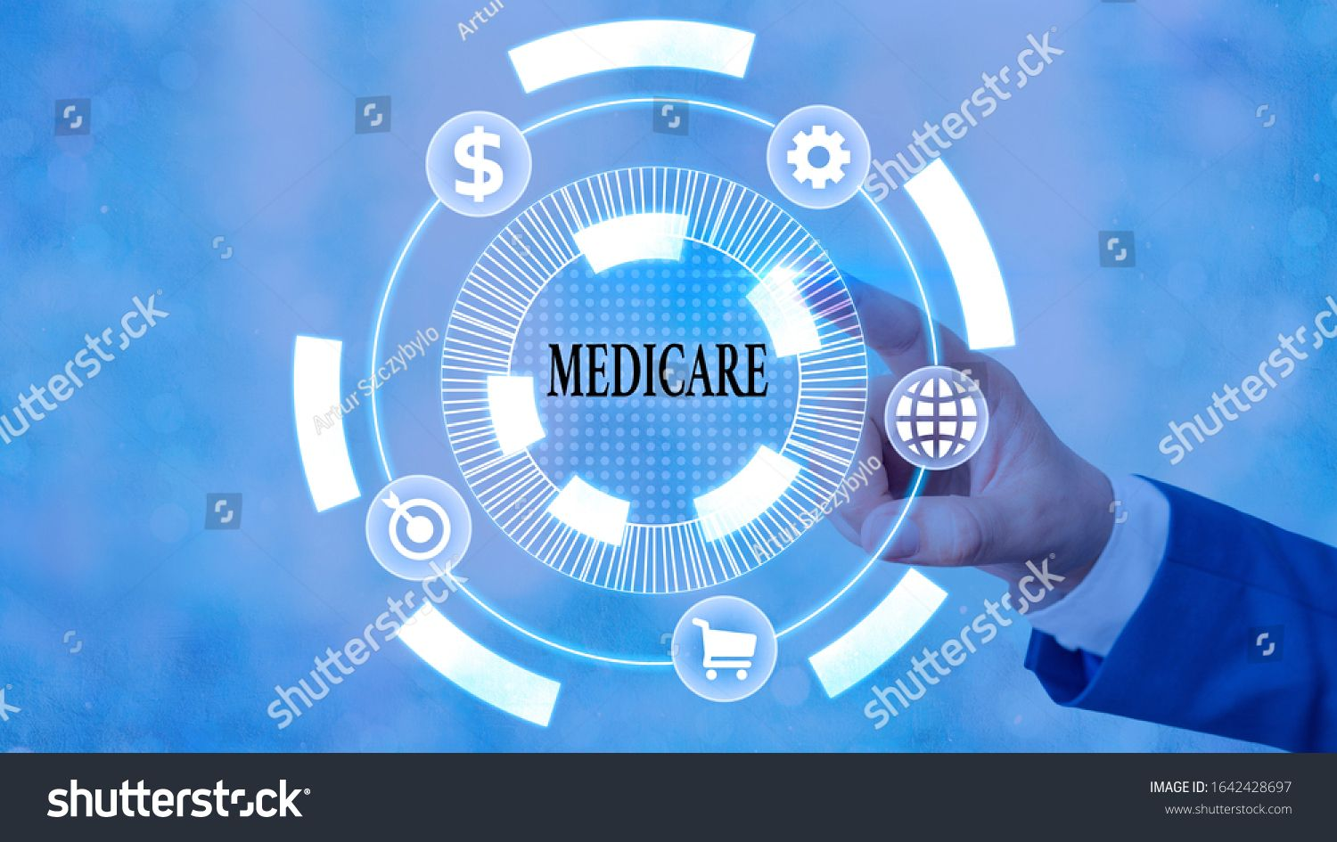 Word writing text Medicare. Business concept for the