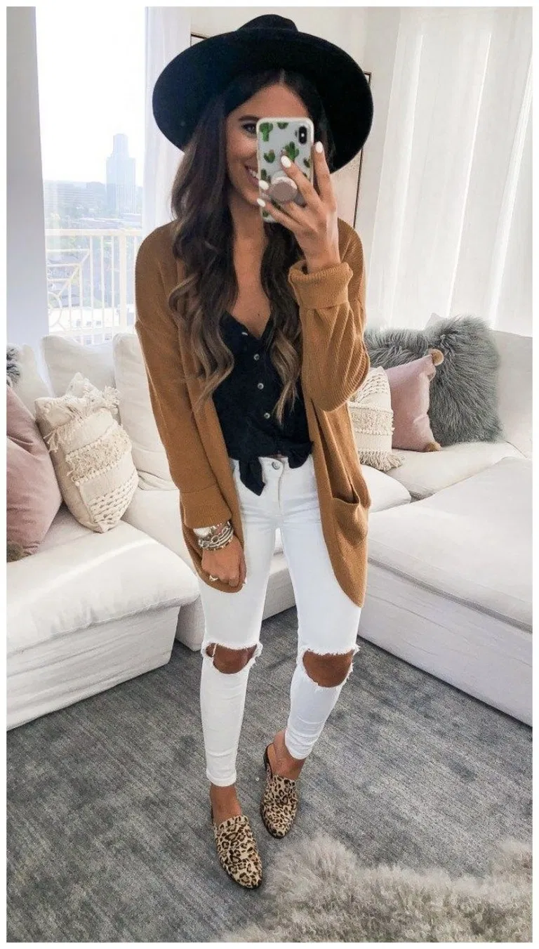 45+ Comfy fall and winter outfits » Home in Fashion