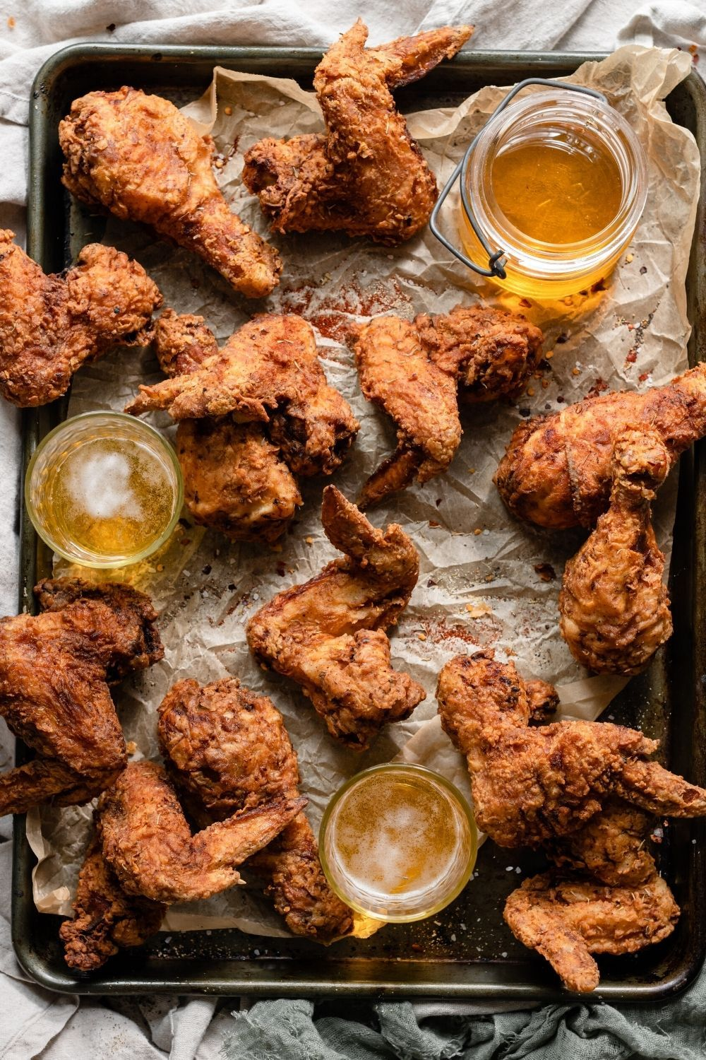 Spicy Fried Chicken Two Cups Flour Recipe In 2020 Fried Chicken Spicy Fried Chicken Chicken Recipes