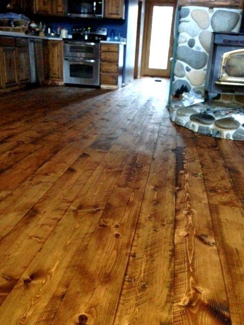 rustic cabin flooring