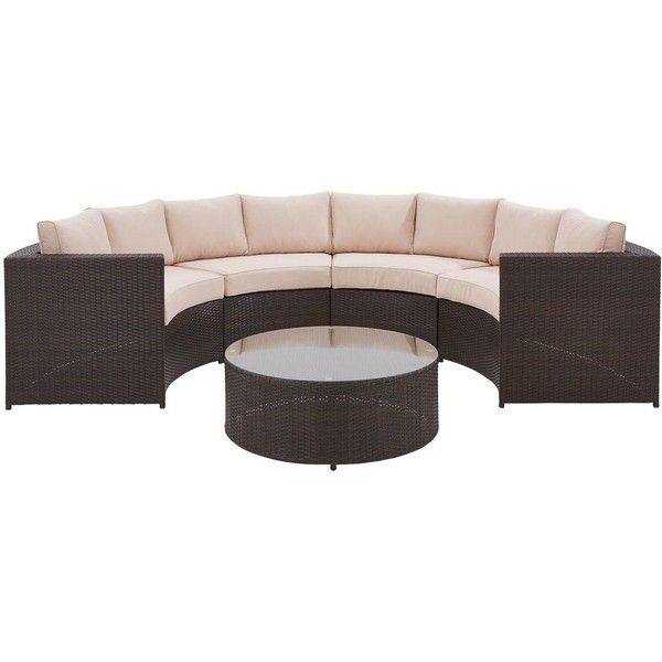 Genoa 5 Piece Half Moon Padded Sofa Set 1 230 Liked On