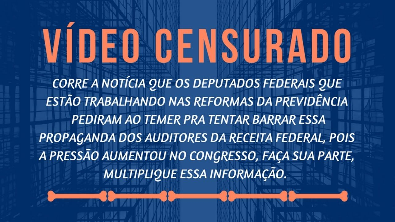 A PREVIDÊNCIA SOCIAL É SUPERAVITÁRIA  https://youtu.be/mRoe2cuXQAA