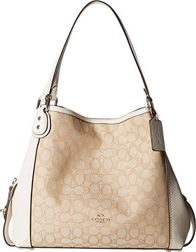 b746000ad9 COACH Women s Signature Edie 31 Shoulder Bag Clout Wear in 2019 ...