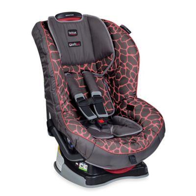 Britax Marathon XE G41 2016 Convertible Car Seat In Pink Giraffe