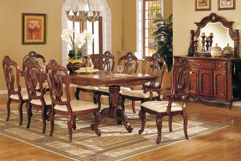 Room Furniture Dark Formal Dining With Farmhouse Table
