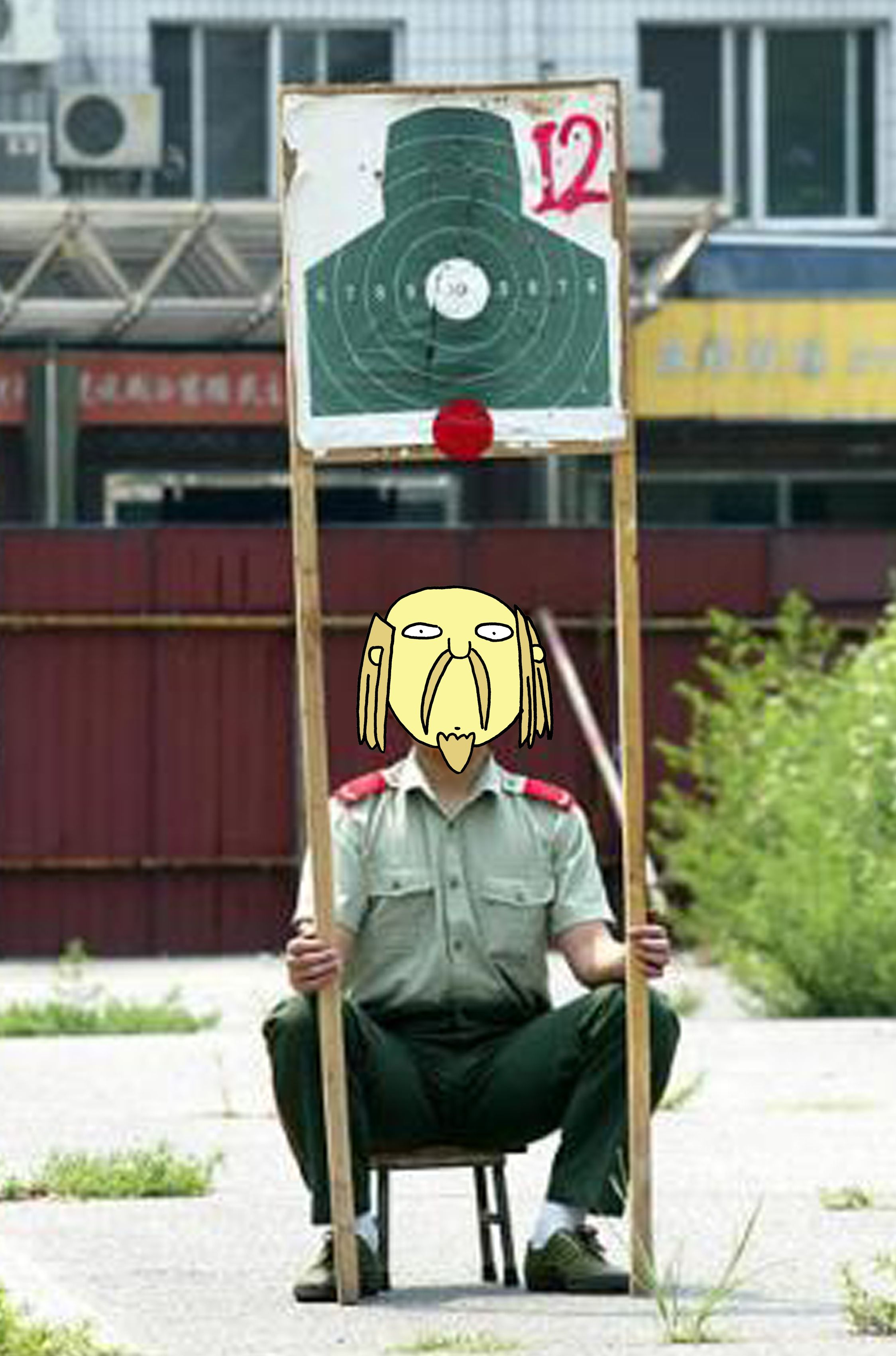 chinese jesus Funny jobs, Military humor, Military jokes