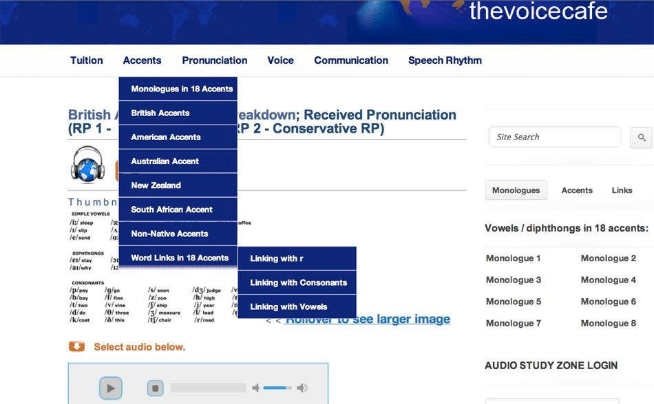 British Dialect Details Site With Audio Examples Of English Word