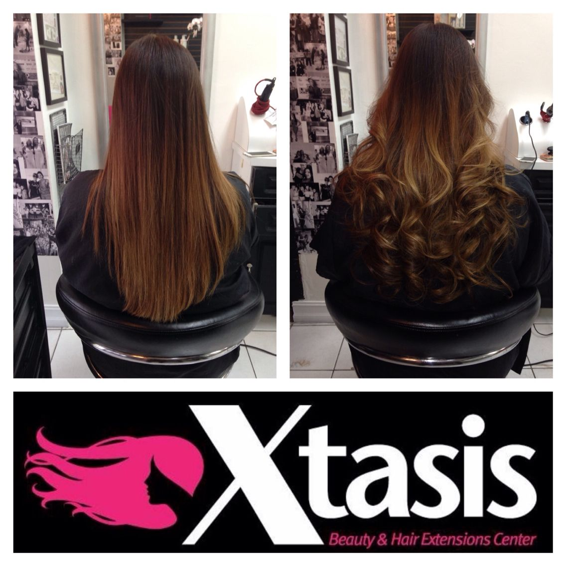 Tape In Hair Extensions Availables At Xtasis Salon Miami Tape