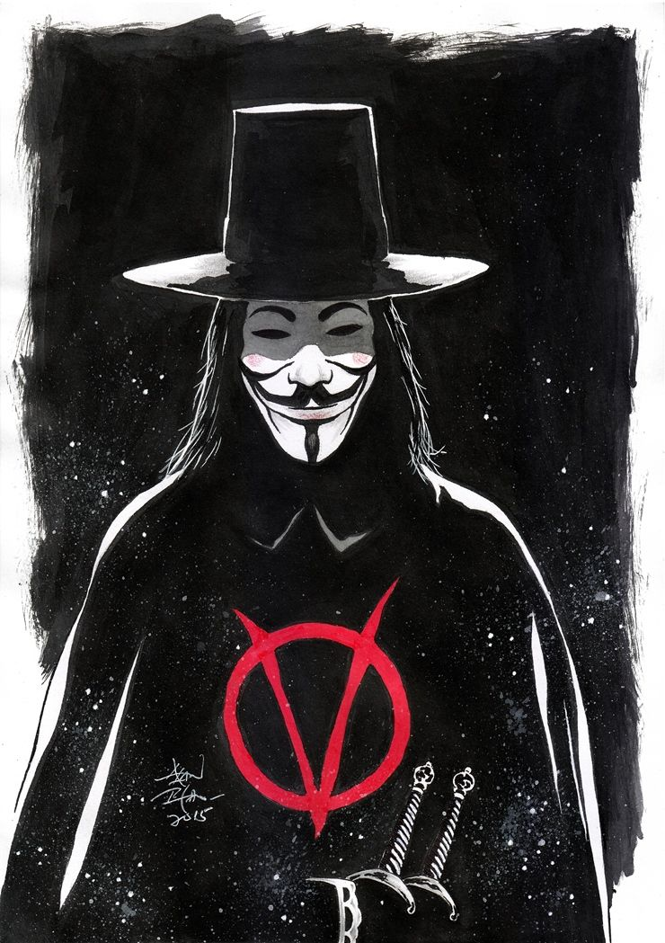 V For Vendetta Sketch V for vendetta, Vendetta, Comic
