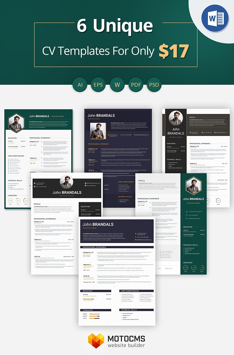 John Brandals Business Analyst Resume Template 66444