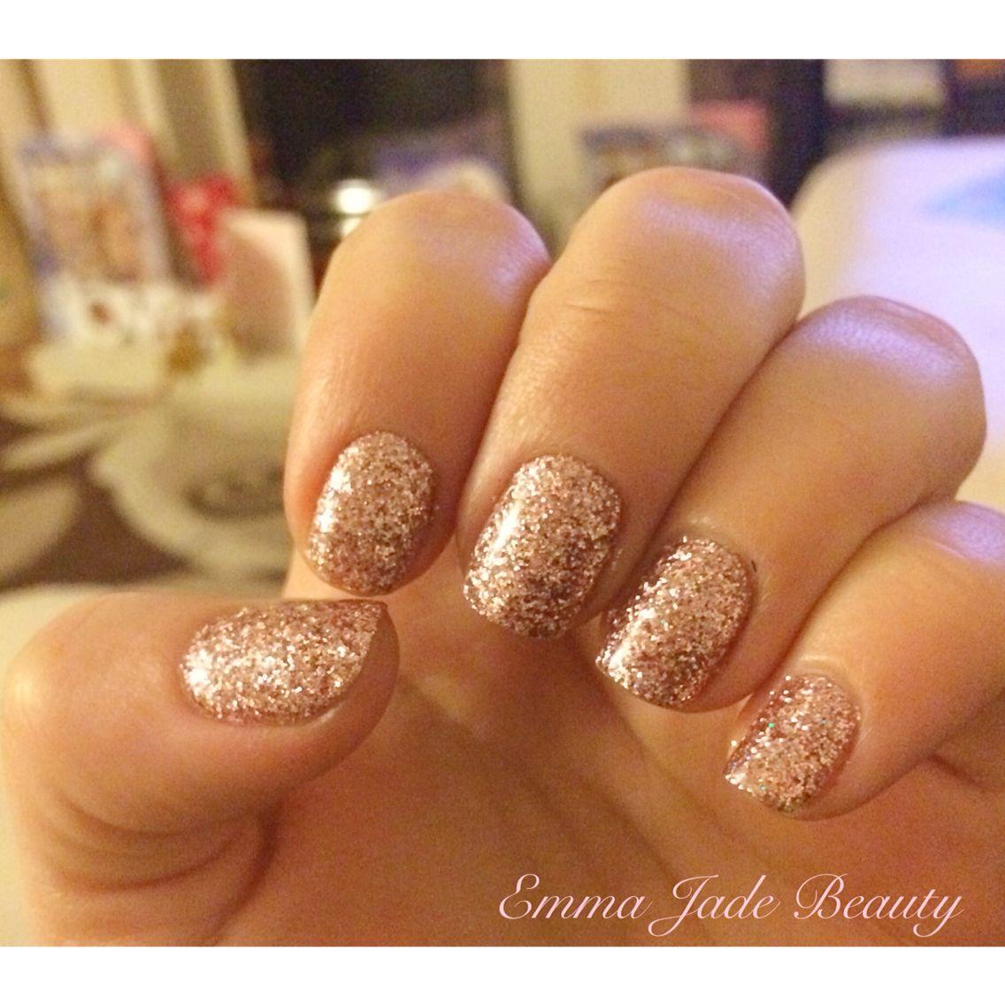 Rose Gold Shellac Rockstar Nails Gold Toe Nails Rose Gold Nails Acrylic Gold Acrylic Nails