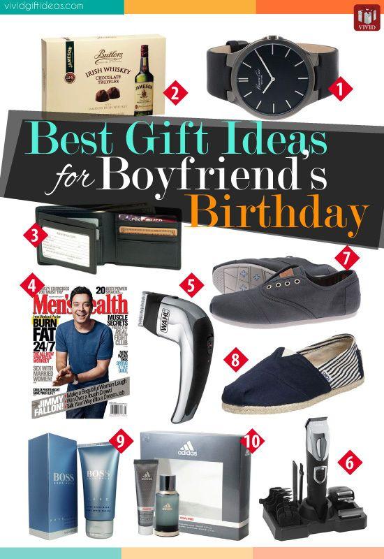 Boyfriends Birthday Gift Ideas